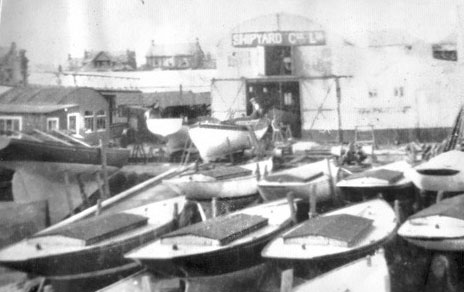 Lovett's Shipyard showing Rivers in winter storage