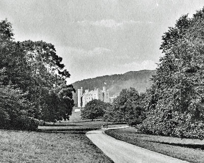 Castlewellan Castle - the seat of the Annesley family