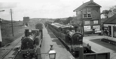 Ballynahinch Junction in the 1930s (Photo: The Belfast & County Down Railway Museum Trust)