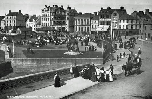 Bangor Seafront in 1900
