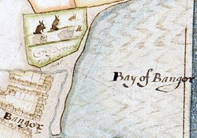 Raven Map of Bangor