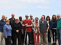 Guided Tour for Visually Impaired Group